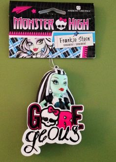 Monster High Frankie Stein Christmas Holiday Ornament New Tree Decoration | eBay