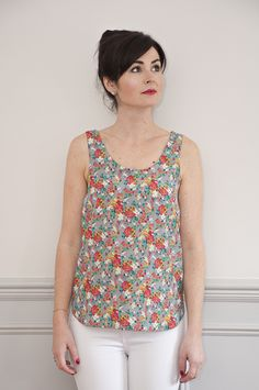 Silk Cami Sewing Pattern by Sew Over It