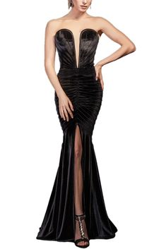CIELLE COUTURE - ROCHIE SIRENA CATIFEA NEAGRA Mermaid, Couture, Formal Dresses, Fashion, Dresses For Formal, Moda, Formal Gowns, Fashion Styles, Formal Dress