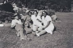 An old image of Malcolm X at the age of 15, his sister Ella Little-Collins and two friends in Franklin Park in 1941.