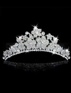 Glamorous Rhinestone tiara