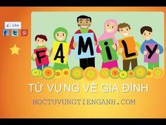 Từ vựng các thành viên trong gia đình
