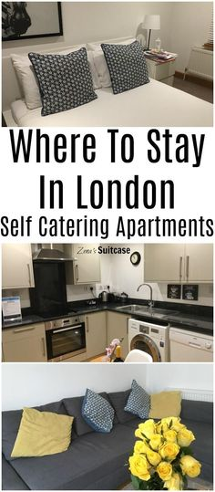 Where to stay in London - self catering apartments are a great option for city breaks or weekend visits to the city