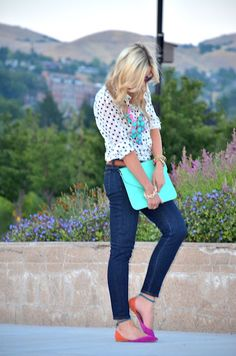 .: Turquoise & Fuchsia :.