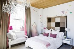 habitación romántica chica adolescente