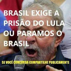 HELLBLOG: Cristina Porto Alegre Eu quero o Lula na cadeia!