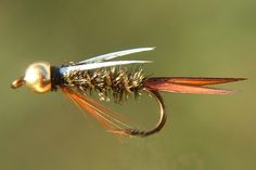 1. Elk Hair Caddis This has to be one of my favorite dry flies. It floats great and gets a lot of takes. It's fairly simple to tie and can work in all different situations. Have fun with this…