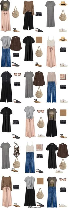 Are you looking for some ideas of what to pack and what kinds of outfits to wear in Lisbon, Portugal in early summer? I have a Lisbon packing list to help you on your way. Head over to my post for what to pack and outfit ideas. Summer Vacation Style, Travel Outfit Summer, Vacation Travel, Travel Wardrobe, Capsule Wardrobe, Wardrobe Ideas, Travel Clothes Women, Clothes For Women, Travel Capsule
