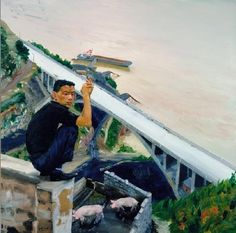 Liu Xiaodong contemporary chinese artist