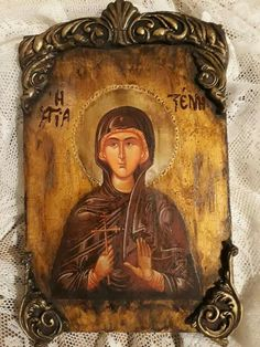 Crate Crafts, Decoupage Vintage, Religious Icons, Son Of God, Orthodox Icons, Fish Art, Acrylics, Jesus Christ, Crates