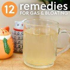 Deal with a gassy tummy?  Here's a great article to tame the toots!    http://everydayroots.com/gas-remedies