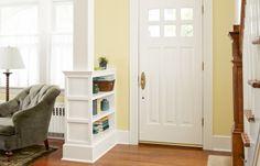 Weekend Remodel: Build a Columned Room Divider