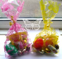 Easter goodie bags 1 cello bags dollar tree 25 for 100 2 easter goodie bags 1 cello bags dollar tree 25 for 100 2 ribbons micheal small roll 99cents 3 stamps any stamps with letters 4 made the to negle Choice Image