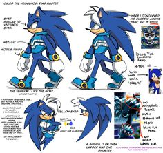 Jules. Pretty cool! (Btw, he is Sonic's dad if you didn't know)
