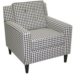 In love with this houndstooth chair! oh my! by katee