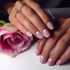 First a classical French manicure meant the varnishing of the nail in white and newd hues. Since then it is ...