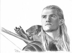 This is a portrait that i do for a little girl who had problems in her life right now, i don't really think legolas is cute, but i know many person thin. Legolas, Aragorn, Tolkien, Lotr Elves, Chibi, Zodiac Art, Animal Sketches, Middle Earth, Lord Of The Rings