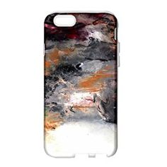 Natural Abstract Landscape No. 2 Apple Seamless iPhone 6 Case (White) by timelessartoncanvas