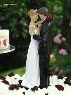 Braut-Traum.... Träume werden wahr.: Tortenschmuck/figuren