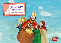 Geschichte zum Nikolaus Bilderbuchkino für Beamer