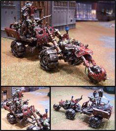 Conversion, Orks, Painboy, Warbike