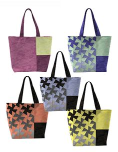 Twister Tote in Northcott Toscana collection
