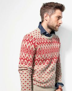 fair isle sweater new at J. Crew