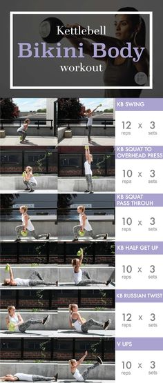 Kettlebell ExerciseWhat is Kettlebell Exercise? The kettlebell is not a new thing and it has been around for quite some time. Kettlebell Training, Cardio Training, Strength Training, Kettlebell Circuit, Kettlebell Challenge, Kettlebell Benefits, Kettlebell Exercises For Arms, Strength Workout, Full Body Kettlebell Workout