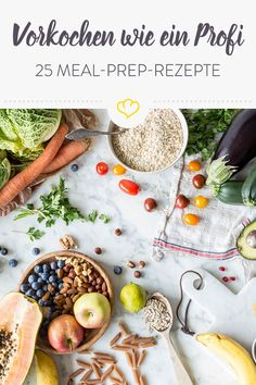 25 meal prep recipes: healthy and tasty throughout the dayDo you want to eat healthy, conscious and varied food despite hectic everyday life? Then our 25 meal prep recipes are just right for you.Seafood, edible aquatic animals, excluding mammals, but Seafood Menu, Seafood Recipes, Paleo Recipes, Snack Recipes, Low Calorie Snacks, Healthy Snacks, Healthy Eating, Yummy Quesadillas, My Favorite Food