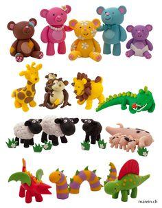 FIMO Kits for Kids // Modellierspass für die ganze Familie und mit den witzigen Motiven der Set-Serie FIMO Kits for Kids können jetzt auch die Kleinsten mit der Step by Step Anleitung ihre ersten kreativen Figuren formen und das mit einem schnellen Erfolgserlebnis. http://www.marein.ch/basteln/7183/fimo-kits-for-kids/