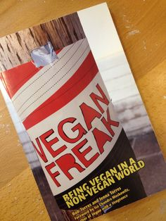 SBS OFFER! The Spiral Bookcase - Vegan Freak: Being Vegan in a Non-Vegan World, $7 // Local artist bookmark with purchase. Valid 11/30/13 only. Present pin at register to receive deal.