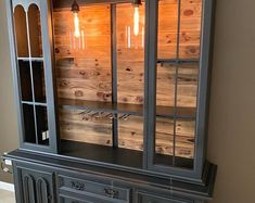 Items similar to Custom Armoire Bar Cabinet, Coffee Station, Wine Cabinet, Rustic Bar, Repurposed Armiore Cabinet on Etsy Refurbished Furniture, Furniture Makeover, Diy Furniture, Furniture Stencil, Antique Radio Cabinet, Vintage Cabinet, Rustic Bar Cabinet, Bar Armoire, Wine Hutch
