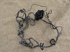 Rose Wreath/Centrepiece by Carol Kajorinne of PLF.