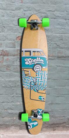 Longboards USA - Kicktail Slow Dayz Blue Stella Longboard 42 inch Complete, $97.00 (http://longboardsusa.com/longboards/kicktail-longboards-shape/kicktail-slow-dayz-blue-stella-longboard-42-inch-complete/)
