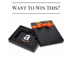Win $250 Amazon.com gift card... just in time for your holiday http://win.redlantana.com/ref/D4124470shopping!