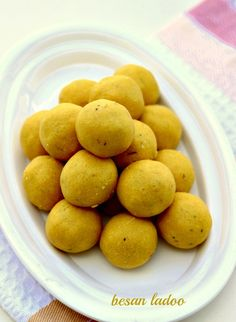 Besan Ladoo Recipe, How to make Besan ke Ladoo Recipe - WeRecipes