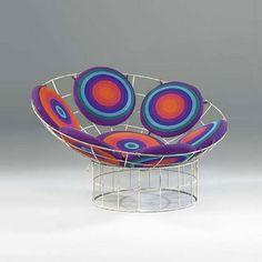 Peacock chair - Verner Panton 1960