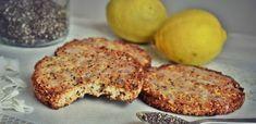 Biscuits légers sans farine, citron-amande-coco et chia (vegan, sans gluten) – Sans foie ni l'oie