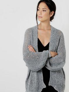 Pop Life Cardigan   Knit It   @woolandthegang