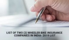 Top Best Two Wheeler Bike Insurance Companies in India- September 2019 Insurance Companies, Car Insurance, National Insurance, Bike Cover, Buy Bike, Party Planning, September, India, Top