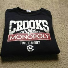 Crooks and Castle Sweatshirt Men's  Gently used. Size L. Purchased from Zumiez. Tops Sweatshirts & Hoodies