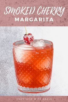 Summer Drink Recipes, Alcohol Drink Recipes, Summer Drinks, Easy Cocktails, Cocktail Drinks, Cocktail Recipes, Liquor Drinks, Alcoholic Drinks, Cherry Margarita