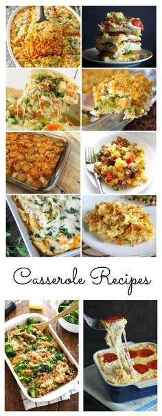 I& a fan of quick and easy meals that the whole family will love! I decided that I would compile a roundup of Casserole Recipes for those busy weeknights. Best Casserole Recipes Ever, Healthy Casserole Recipes, Casserole Dishes, Crockpot Recipes, Cooking Recipes, Healthy Dinner Recipes, New Recipes, Favorite Recipes, Healthy Meals
