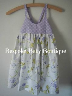 Chloe Dress Special Occasion Summer Dress by BespokeBabyBoutique