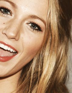 A smile is the best weapon that a woman can wear. Blake Lively
