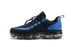 Nike Air VaporMax Run FlyKnit Utility Game Royal Blue Black Men s Running  Shoes 4f645fefb