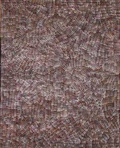 Greeny Purvis PETYARRE_Sans Titre #painting #aboriginal #aborigene #contemporain Aboriginal Painting, Aboriginal Artists, Les Oeuvres, San, Orange, Pattern, Aboriginal Art, Contemporary, Yellow Fabric