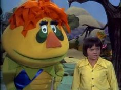H.R. Puff n' stuff....lol, yes, I had to... one of the most scariest Saturday morning shows EVER for children!