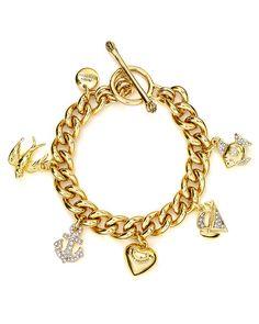 Juicy Couture Knots & Anchors Sailor Girl Charm Bracelet | Bloomingdale's