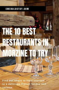A guide to the 10 best Morzine restaurants. Find out where to treat yourself to delicious French fondue and raclette in this French Alps ski resort. Nepal Mount Everest, Rock Climbing Gear, Ski Holidays, Bungee Jumping, French Alps, The 10, Treat Yourself, Dining Table, Hang Gliding